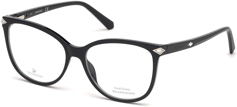 Paire de lunette optique marque swarovski de couleur noir