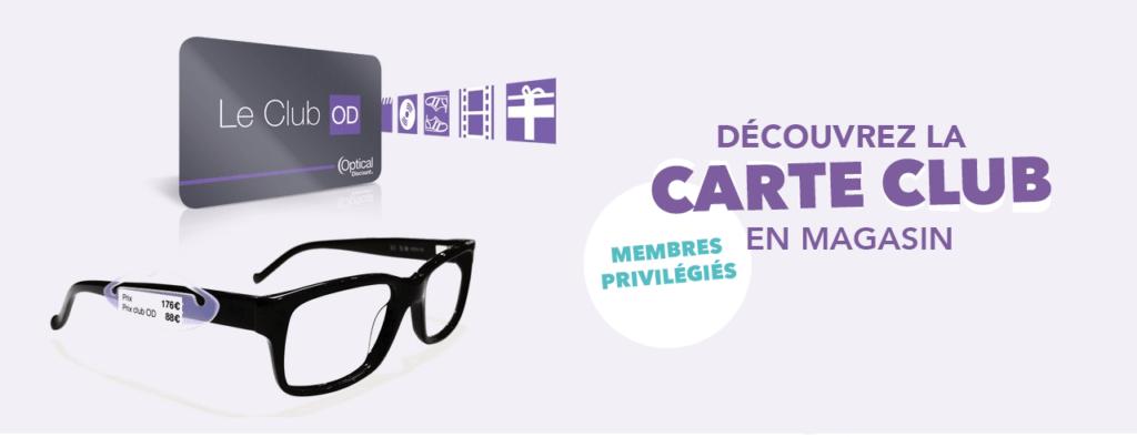 Carte fidélité lunettes réunion